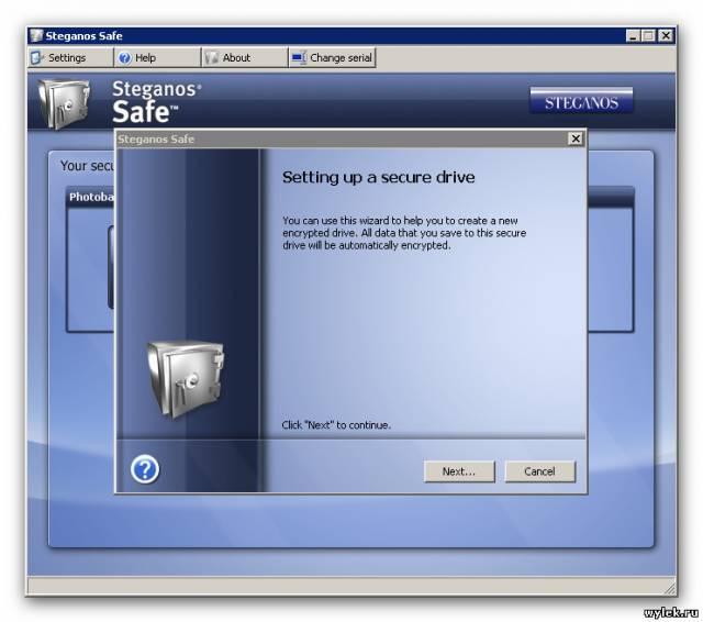Steganos Safe 2009 11.1.6.9457