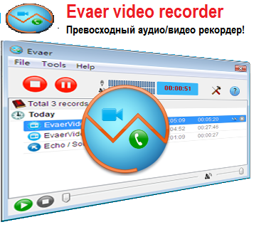 Evaer Video Recorder for Skype 1.6.2.17 RUS + RUS