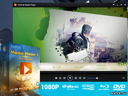 DVDFab Media Player 2 - 2.1.6.0 + RUS