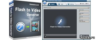 ThunderSoft Flash to Video Converter 2.8.0.0 Rus