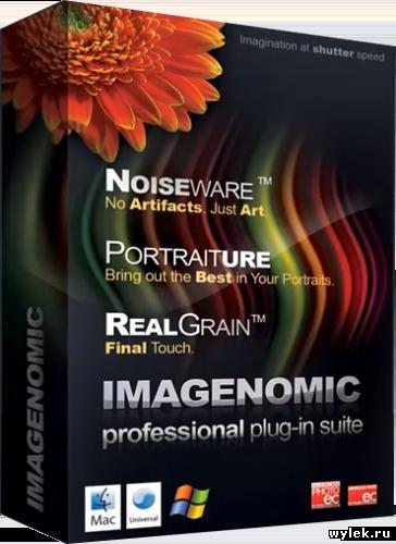 Русская версия RuPack Imagenomic Professional Suite PS 1409