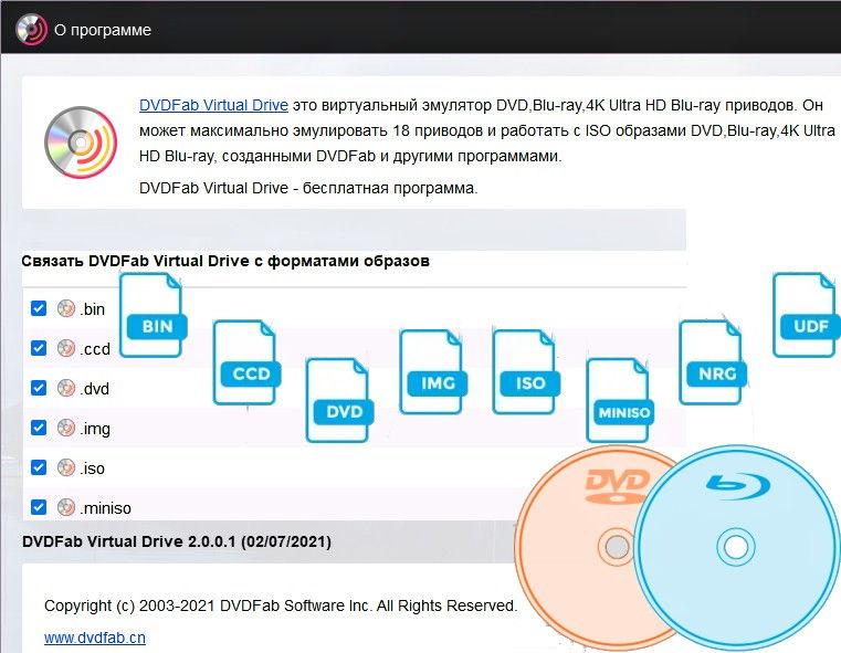 DVDFab Virtual Drive 2.0.0.1 RUS