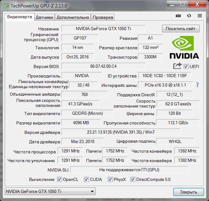 GPU-Z RUS