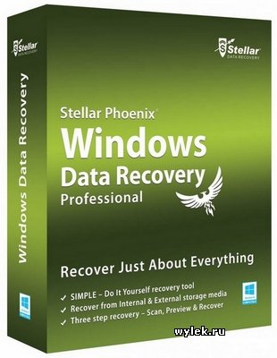 Stellar Phoenix Windows Data Recovery Professional 6.0.0.1 RUS от 21.10.2016