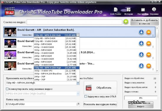 ChrisPC VideoTube Downloader RUS
