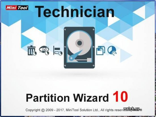 MiniTool Partition Wizard 10.2.2 + WinPE.iso (обновление)