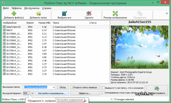 Pixillion Image Converter Plus v5.06