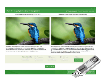 Black Bird Image Optimizer 1.0.27 Pro Rus Portable by Valx